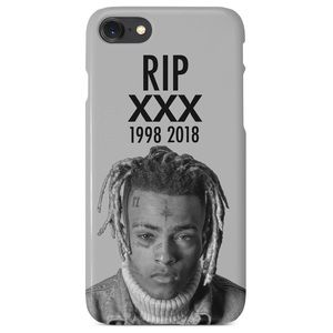 Gray RIP XXXTentacion iPhone / Samsung Phone Case